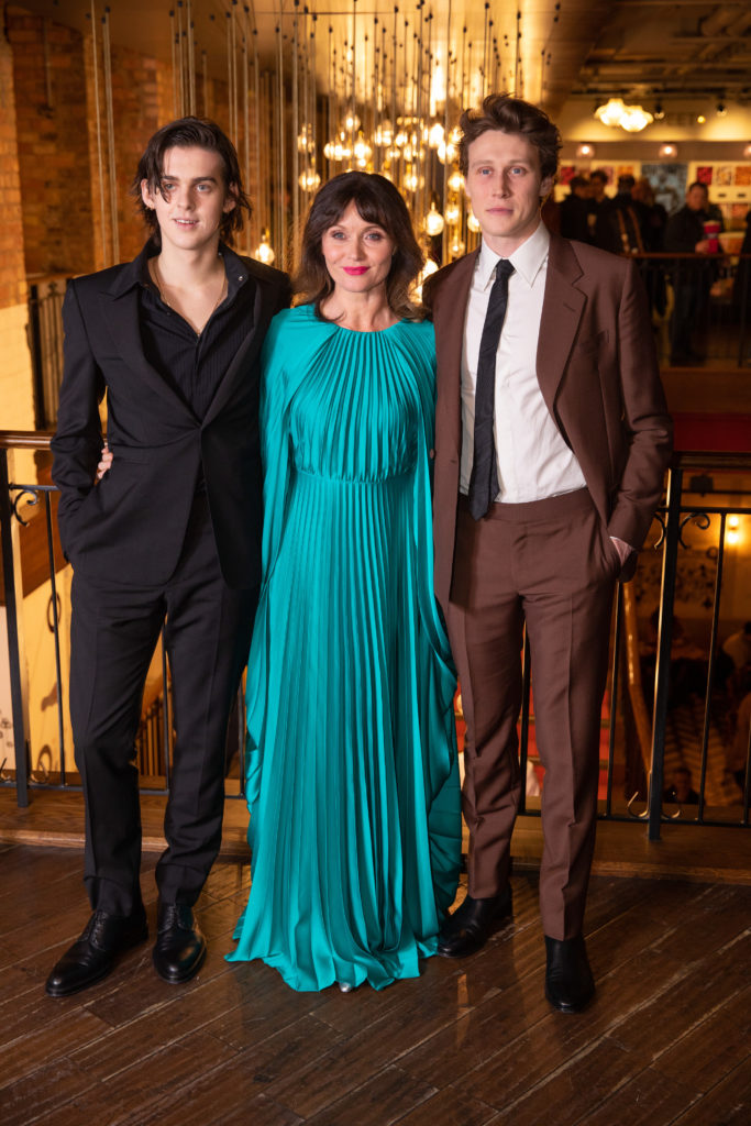 Earl Cave, Essie Davis and George MacKay True History of the Kelly Gang UK Premiere London Arrivals