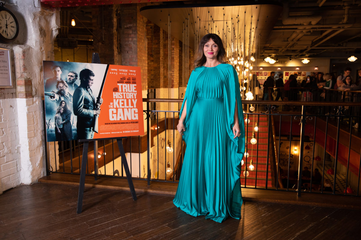 Essie Davis UK Premiere 0f True History Of The Kelly Gang