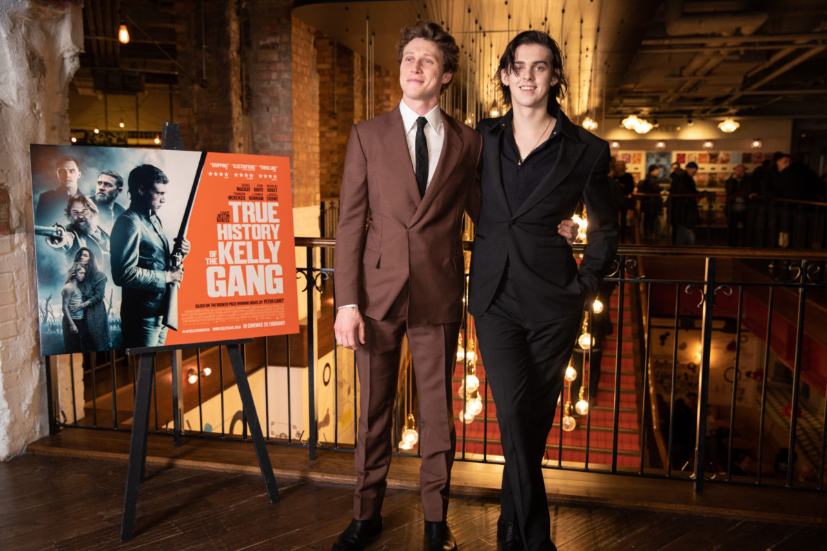 George MacKay and Earl Cave UK Premiere 0f True History Of The Kelly Gang