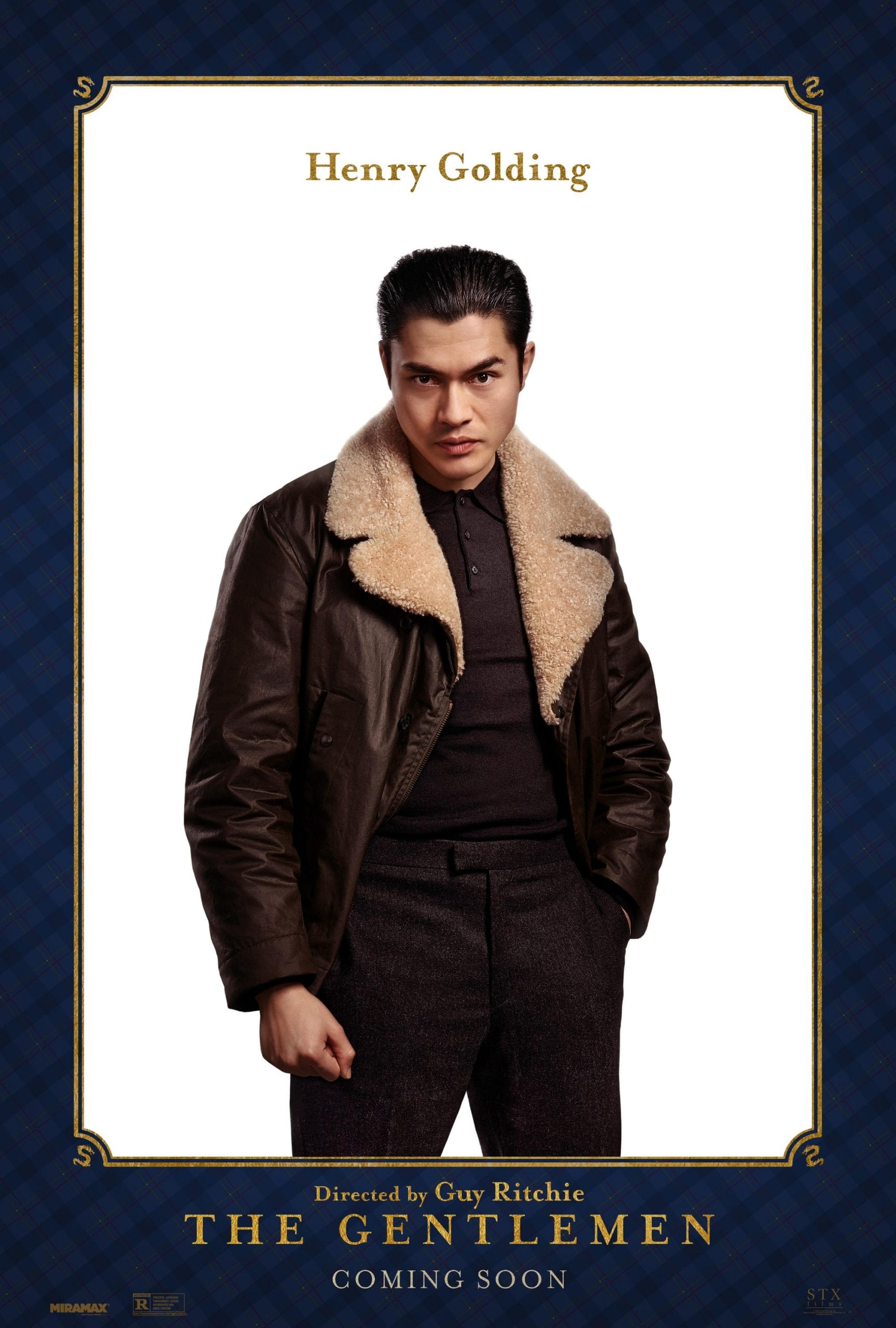 Henry Golding as Dry Eye The Gentlemen Character Posters