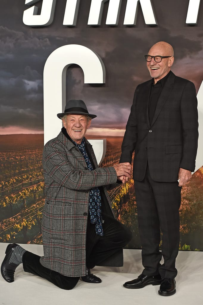Ian McKellen, Patrick Stewart Star Trek Picard World Premiere London Red Carpet