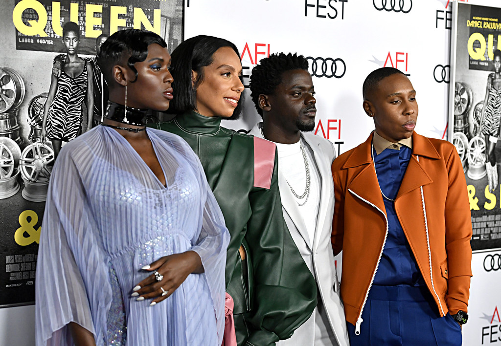 Jodie Turner-Smith, Director Melina Matsoukas, Daniel Kaluuya and Lena Waithe Queen and Slim Hollywood Premiere 2019 AFI Festival Arrivals Los Angeles