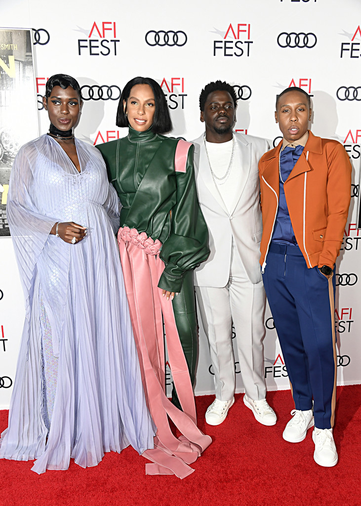 Jodie Turner-Smith, Melina Matsoukas, Daniel Kaluuya and Lena Waithe Queen and Slim Hollywood Premiere 2019 AFI Festival Arrivals Los Angeles