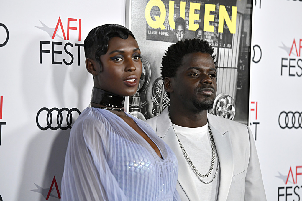 Jodie Turner-Smith and Daniel Kaluuya Queen and Slim Hollywood Premiere 2019 AFI Festival Arrivals Los Angeles