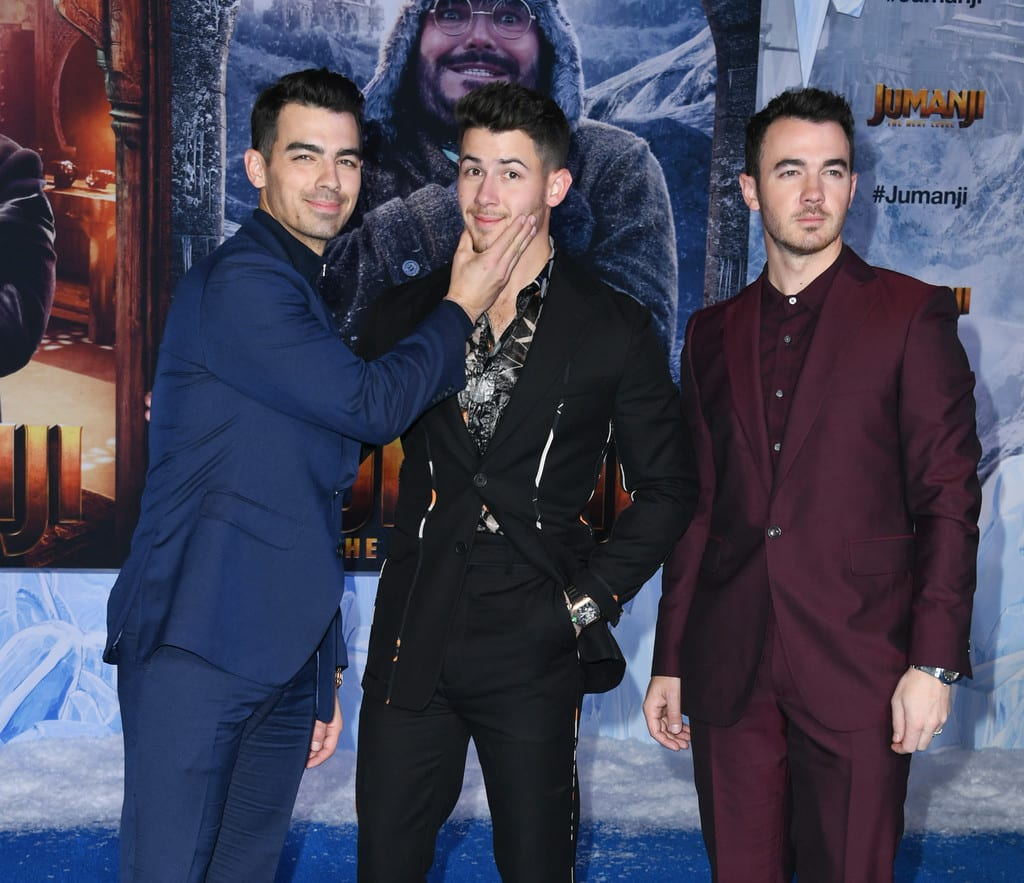 Jonas Brothers Jumanji The Next Level World Premiere Hollywood Los Angeles Red Carpet