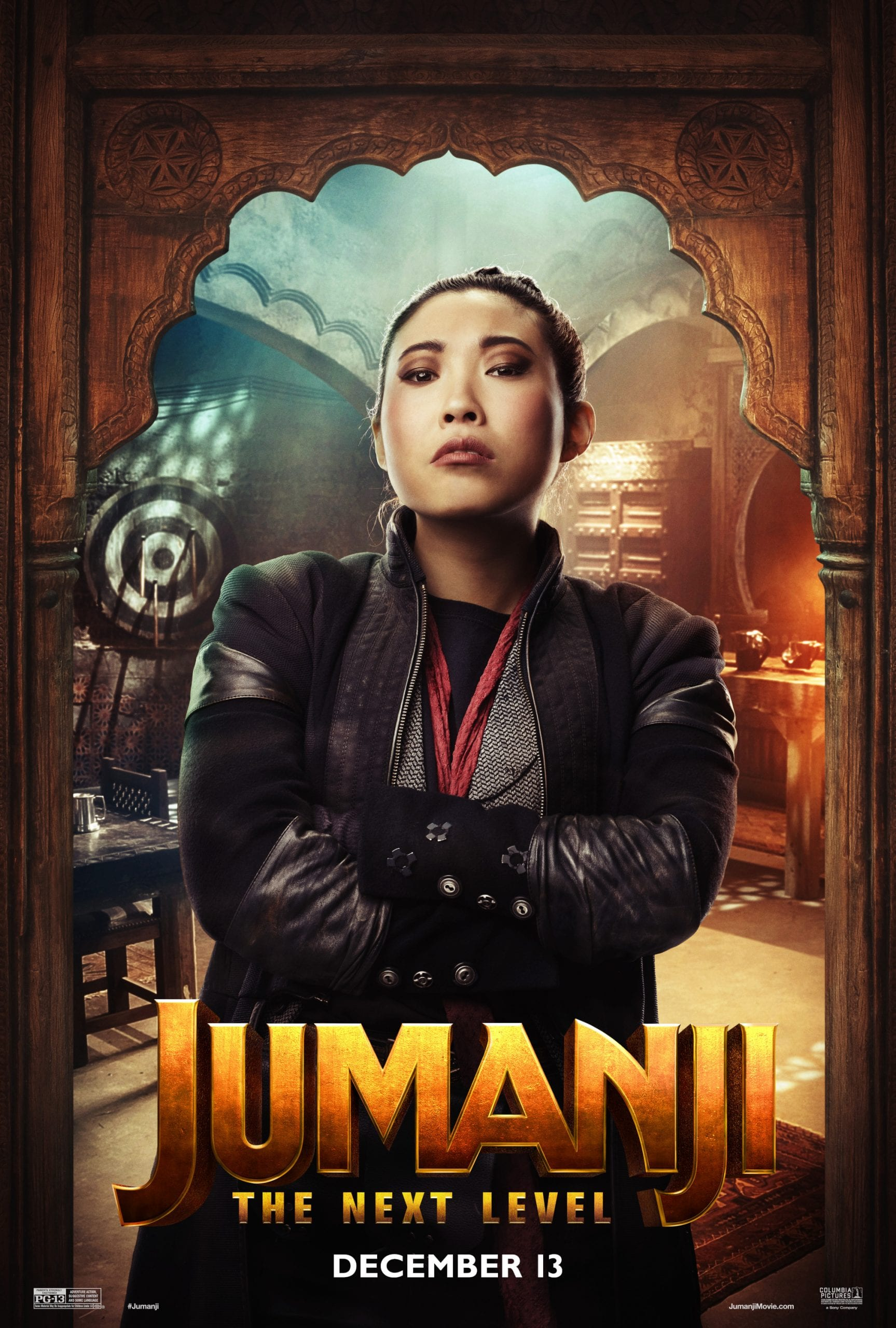 Jumanji The Next Level Character Posters Awkwafina as Ming Fleetfoot