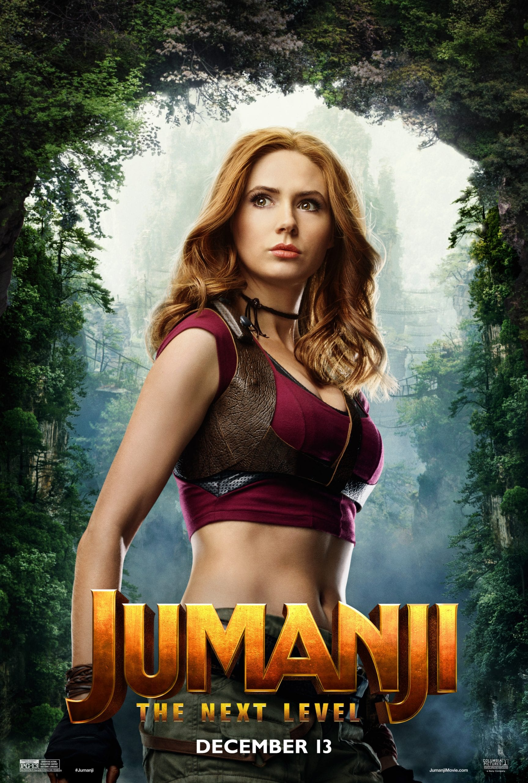 Jumanji The Next Level Character Posters Karen Gillan as Ruby Roundhouse