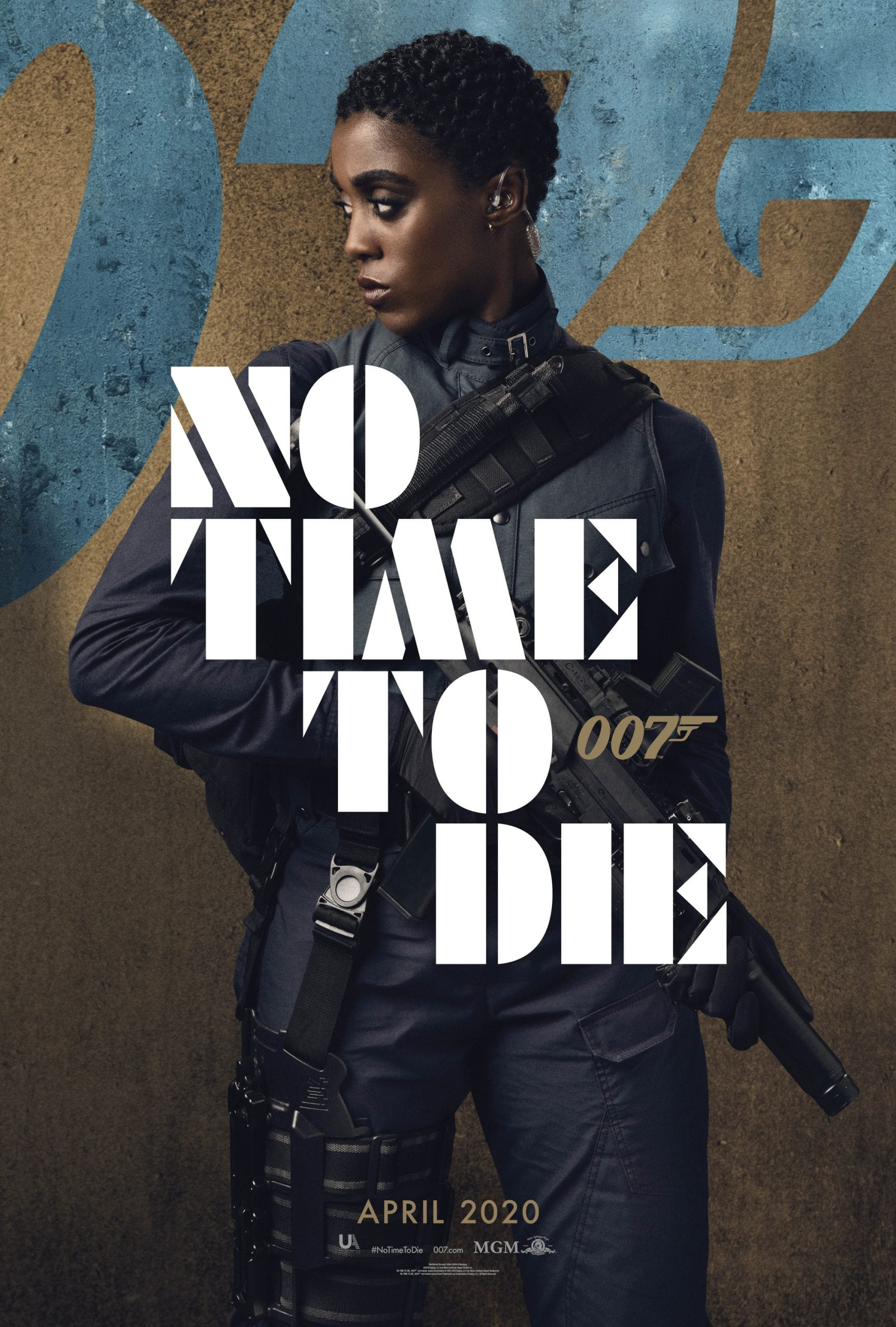007 No Time To Die Bond 25 Character Posters Lashana Lynch as Nomi
