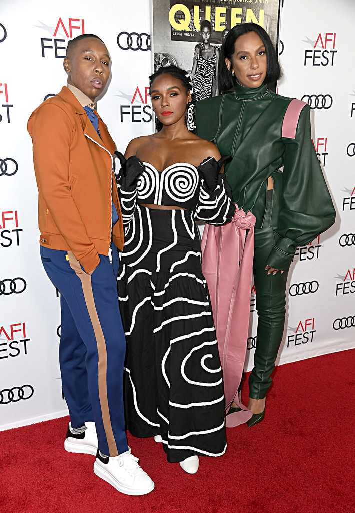 Lena Waithe, Janelle Monae and Melina Matsoukas Queen and Slim Hollywood Premiere 2019 AFI Festival Arrivals Los Angeles
