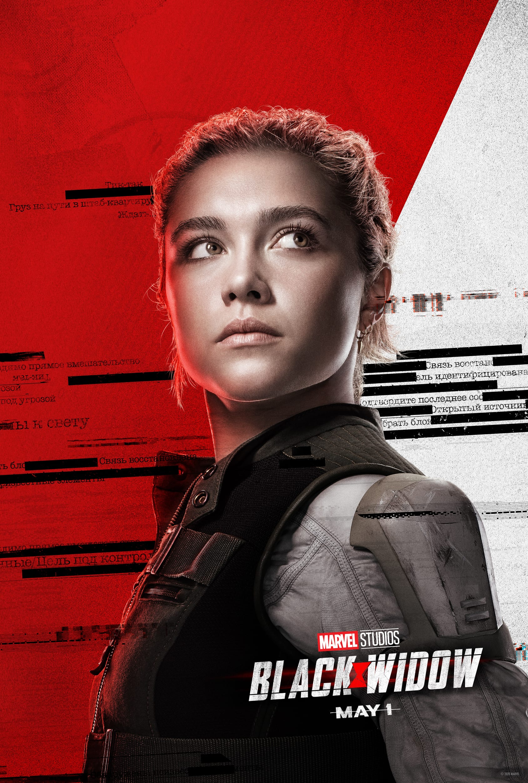 Marvel Black Widow Character Posters Florence Pugh as Yelena Belova