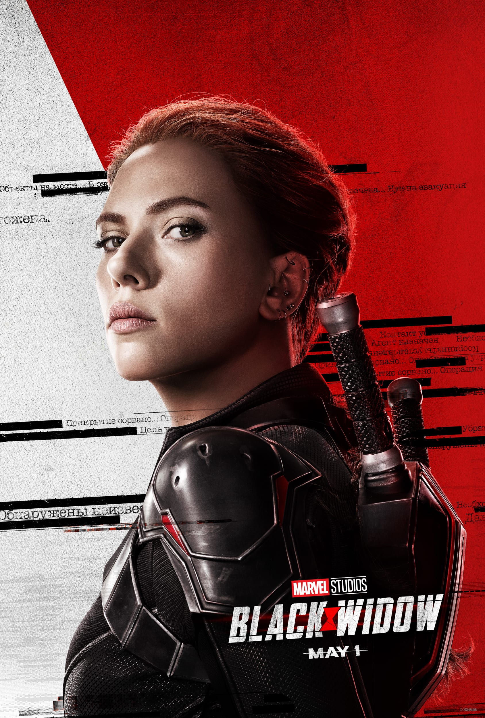 Marvel Black Widow Character Posters Scarlett Johansson as Natasha Romanoff Black Widow
