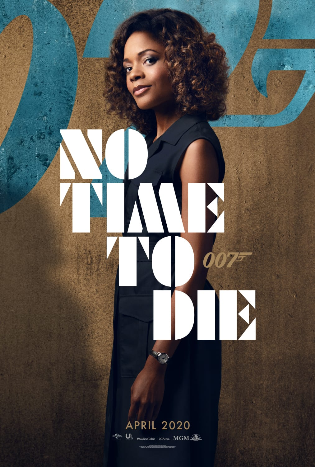 007 No Time To Die Bond 25 Character Posters Naomi Harris as Eve Moneypenny