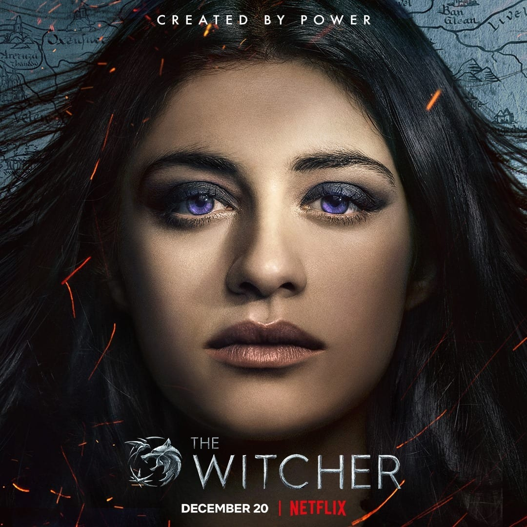 Netflix The Witcher Character Posters Anya Chalotra as Yennefer of Vengerberg
