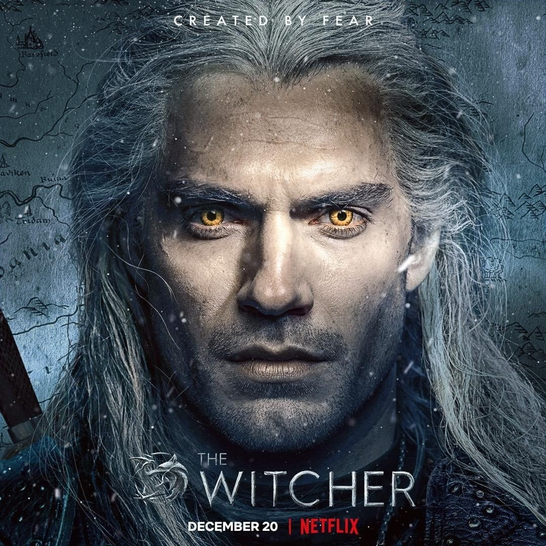 Netflix The Witcher Character Posters Henry Cavill as Geralt of Rivia