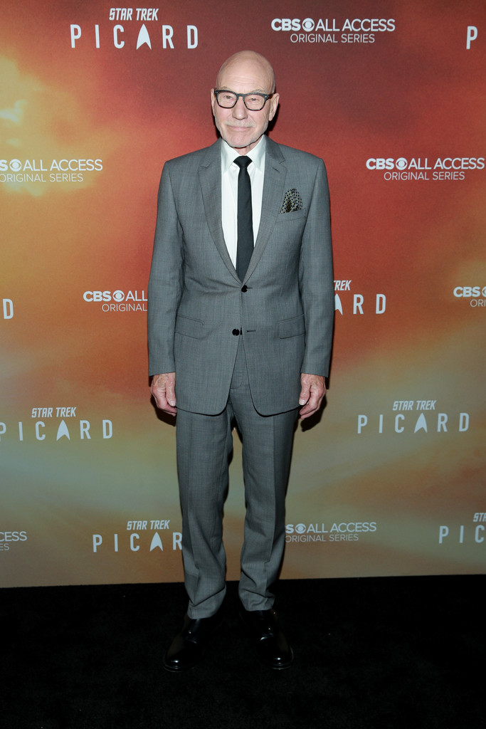 Patrick Stewart Star Trek Picard Hollywood Los Angeles Premiere Series 1