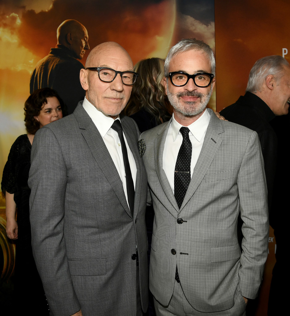 Patrick Stewart and Alex Kurtzman Star Trek Picard Hollywood Los Angeles Premiere Series 1