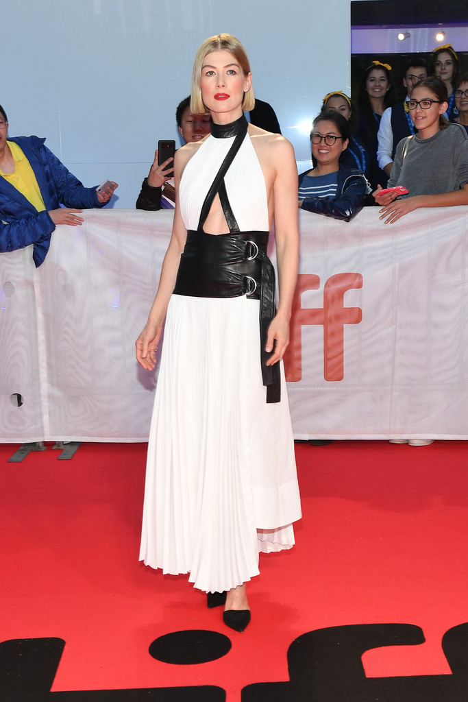 Rosamund Pike Radioactive Premiere TIFF 2019 Toronto International Film Festival