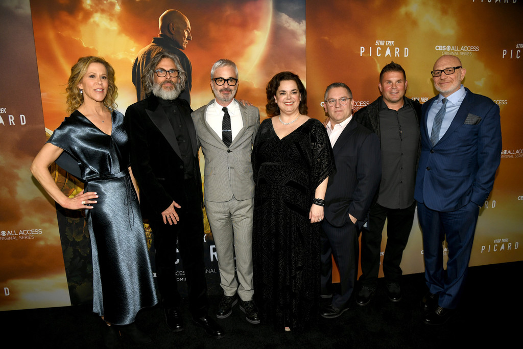 Show creators Star Trek Picard Hollywood Los Angeles Premiere Series 1