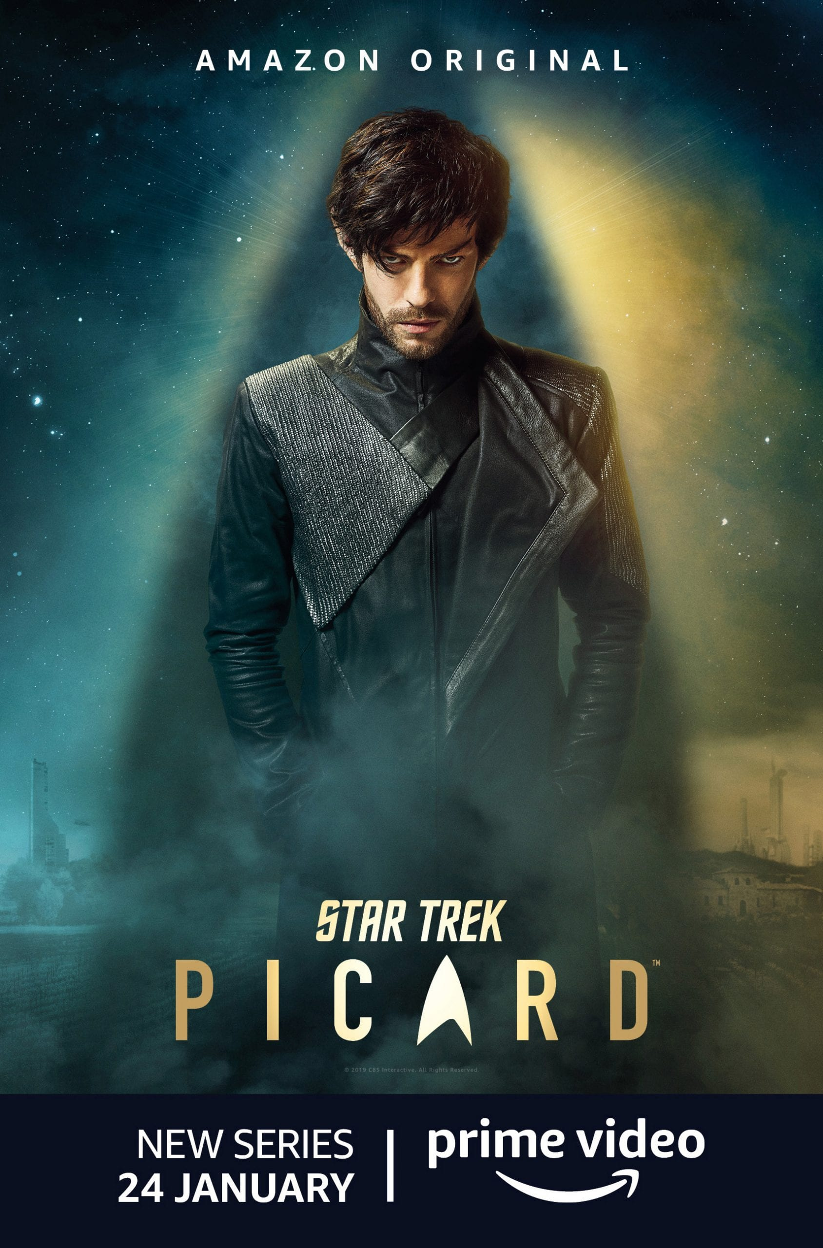 Star Trek Picard Character Posters Harry Treadaway as Narek