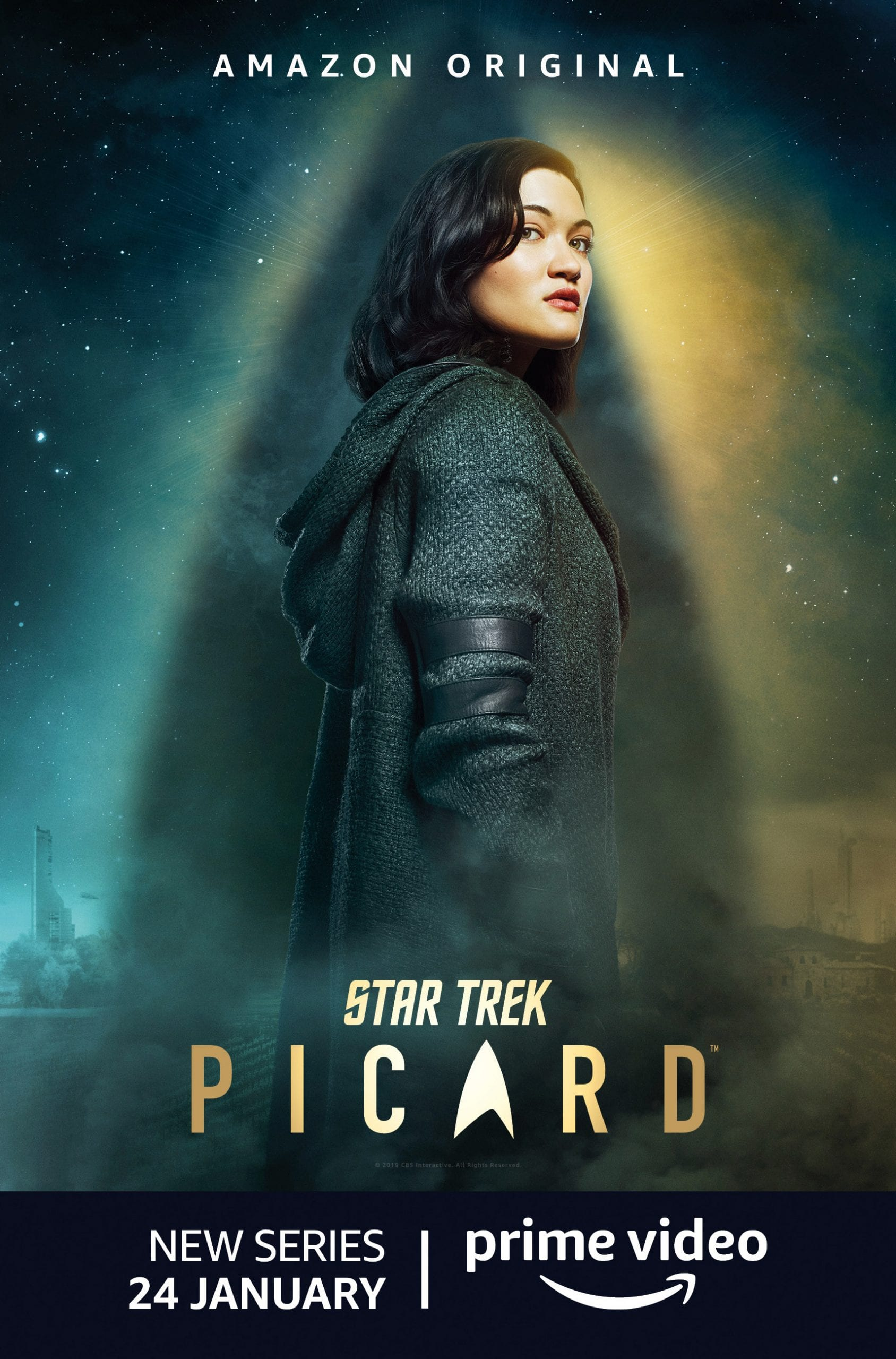 Star Trek Picard Character Posters Isa Briones as Dahj and Soji Asha