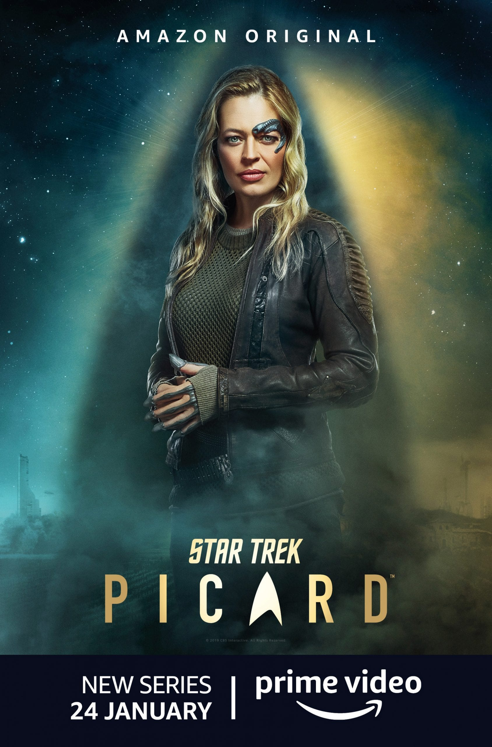 Star Trek Picard Character Posters Jeri Ryan as Seven of Nine