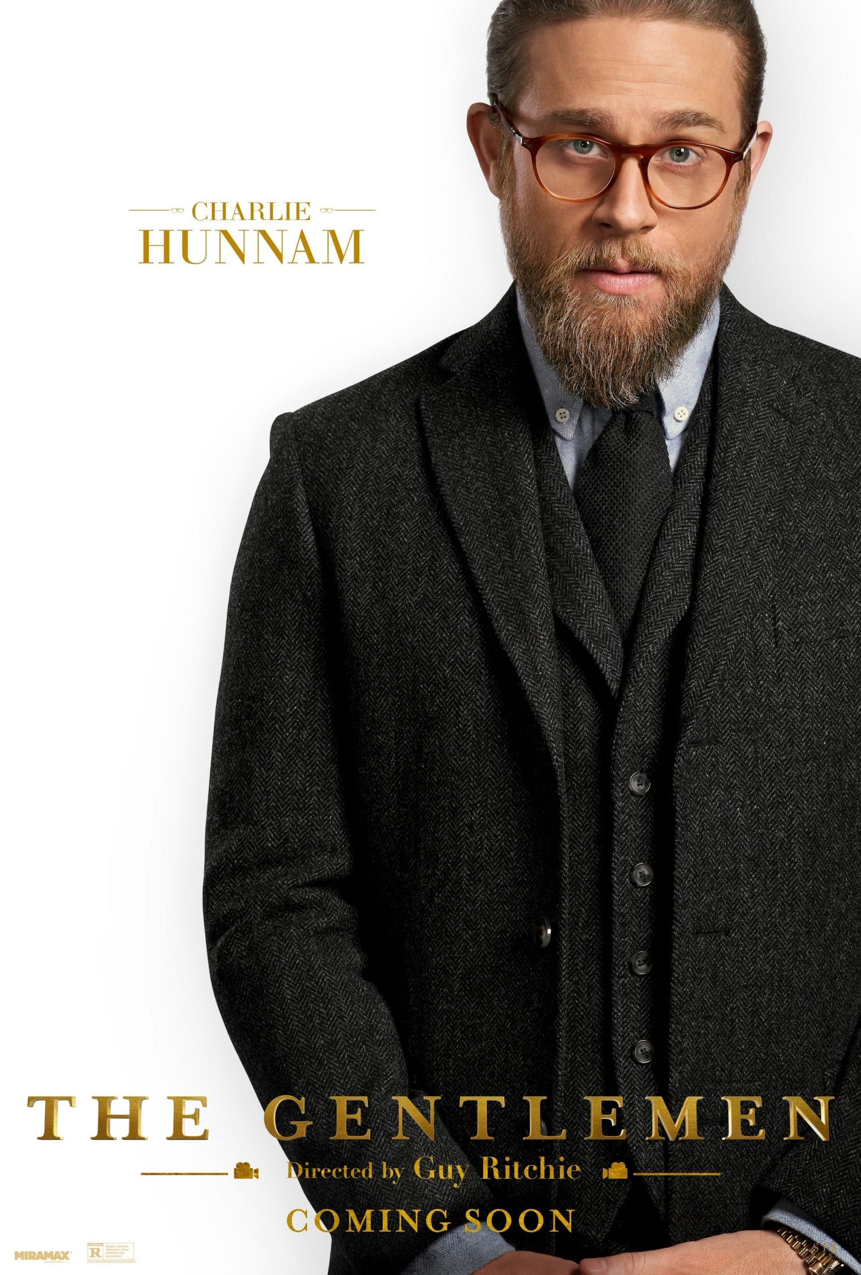 The Gentlemen Character Posters Charlie Hunnam as Raymond Smith