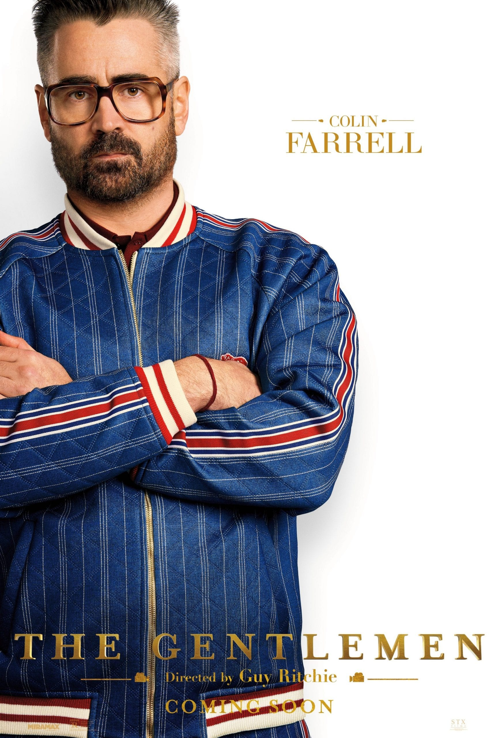 The Gentlemen Character Posters Colin Farrell as Coach