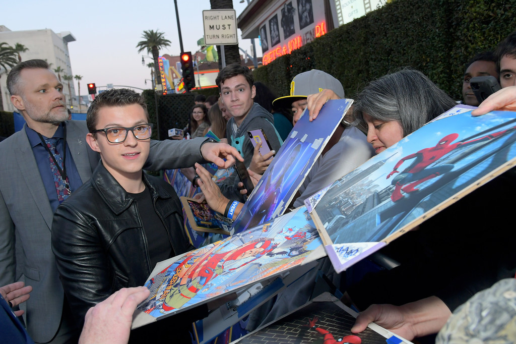 Tom Holland Onward Hollywood Premiere Los Angeles Arrivals
