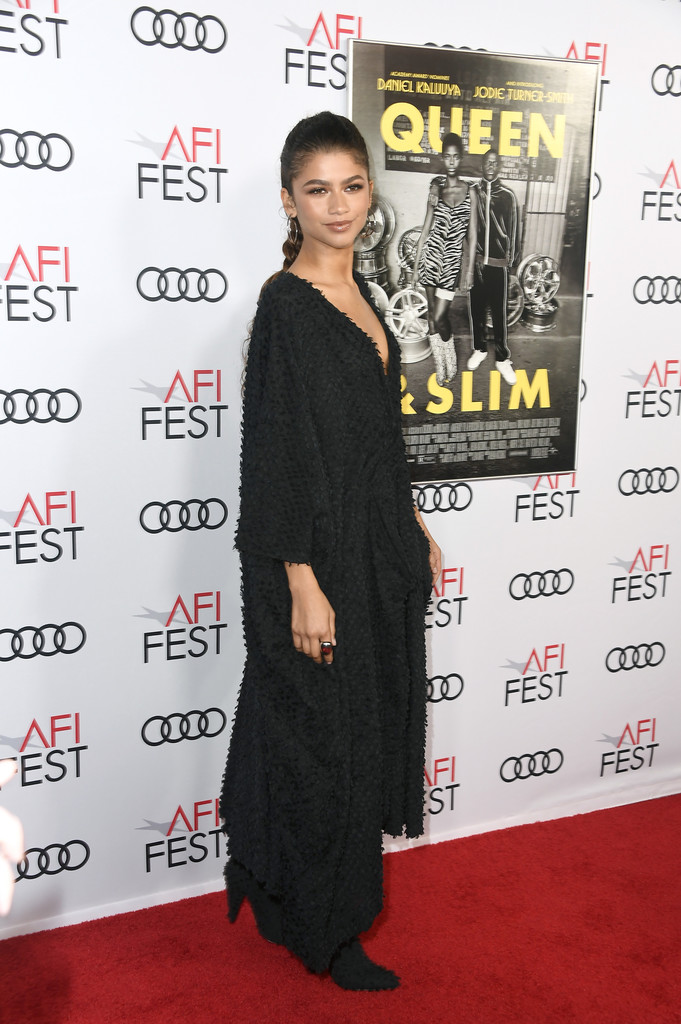 Zendaya Queen and Slim Hollywood Premiere 2019 AFI Festival Arrivals Los Angeles
