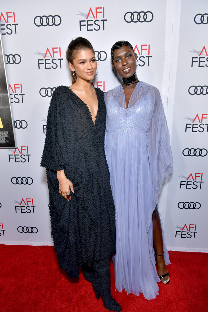 Zendaya and Jodie Turner-Smith Queen and Slim Hollywood Premiere 2019 AFI Festival Arrivals Los Angeles