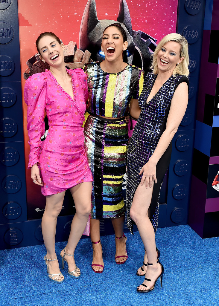 Alison Brie, Stephanie Beatriz and Elizabeth Banks The Lego Movie 2 Second Part Los Angeles Premiere