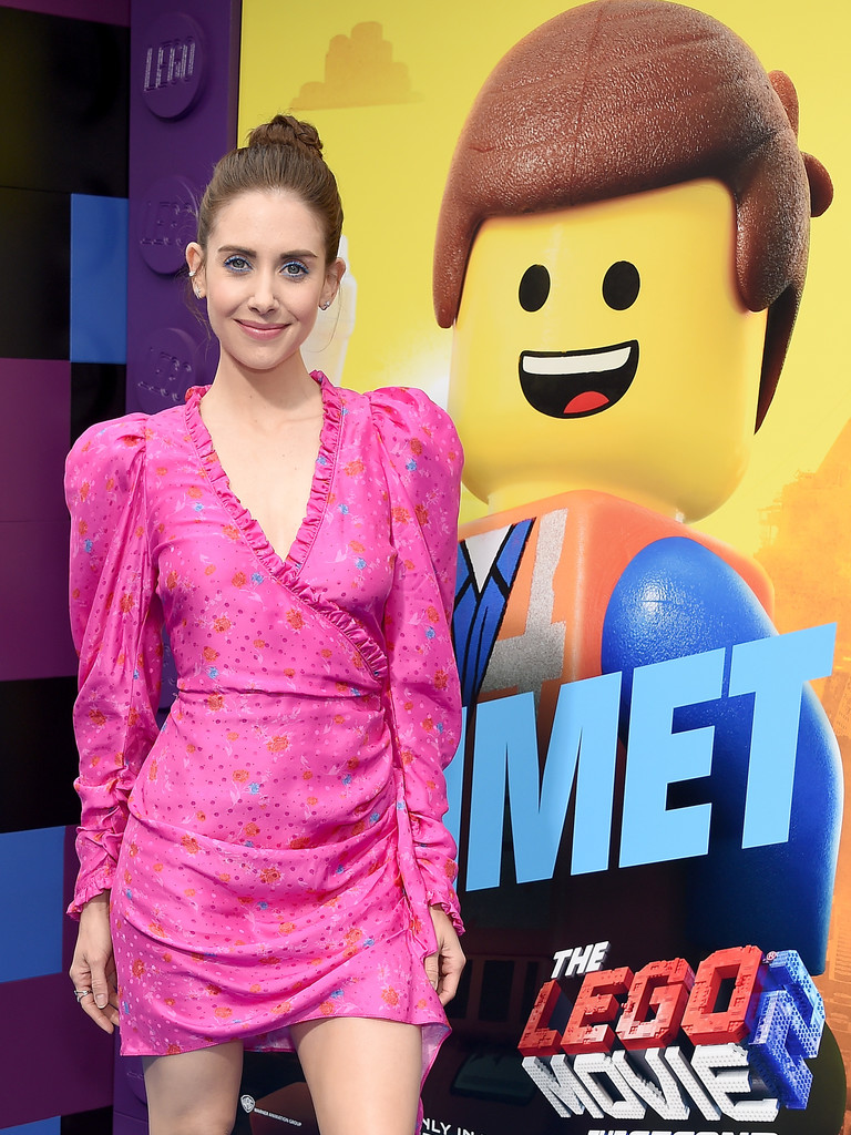 Alison Brie The Lego Movie 2 Second Part Los Angeles Premiere