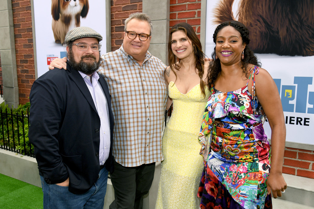 Bobby Moynihan, Eric Stonestreet, Lake Bell and Tiffany Haddish The Secret Life of Pets 2 Los Angeles Premiere