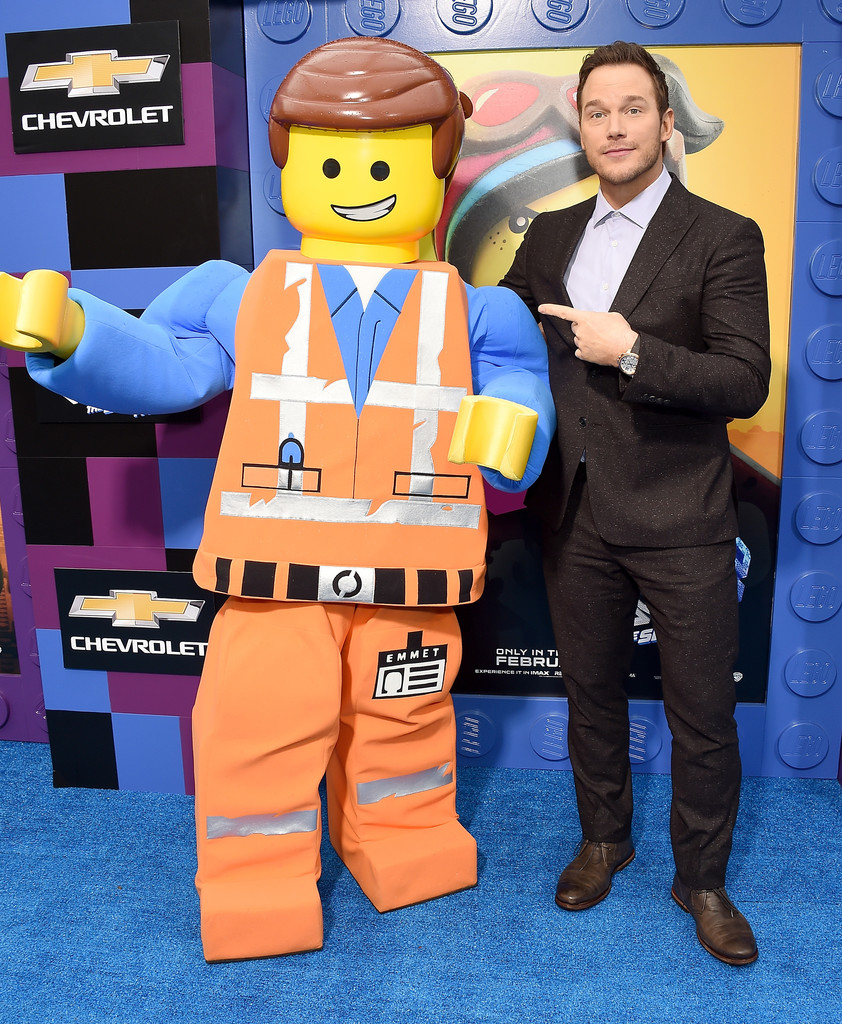 Chris Pratt The Lego Movie 2 Second Part Los Angeles Premiere