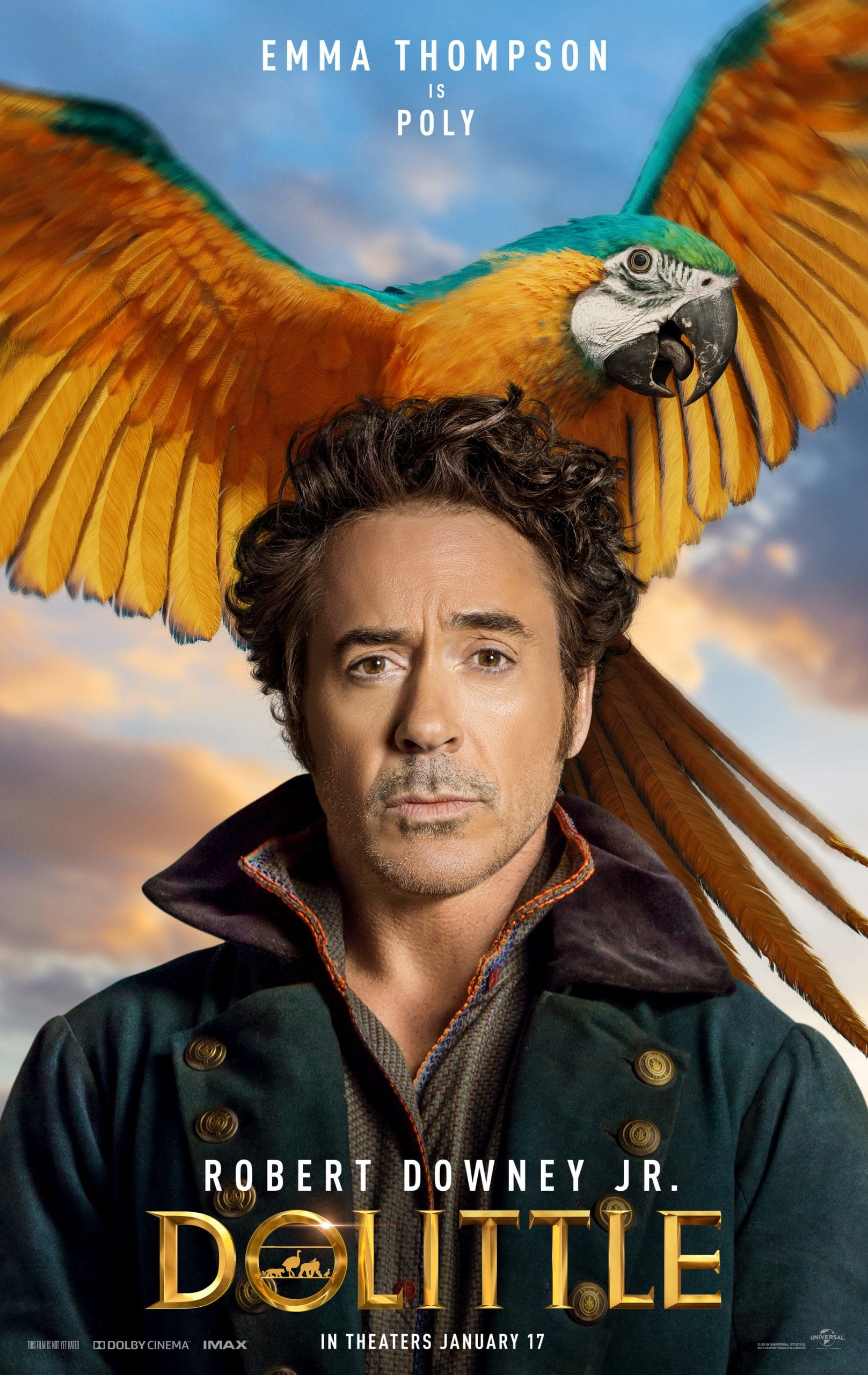 Dolittle Character Posters Emma Thompson is Poly