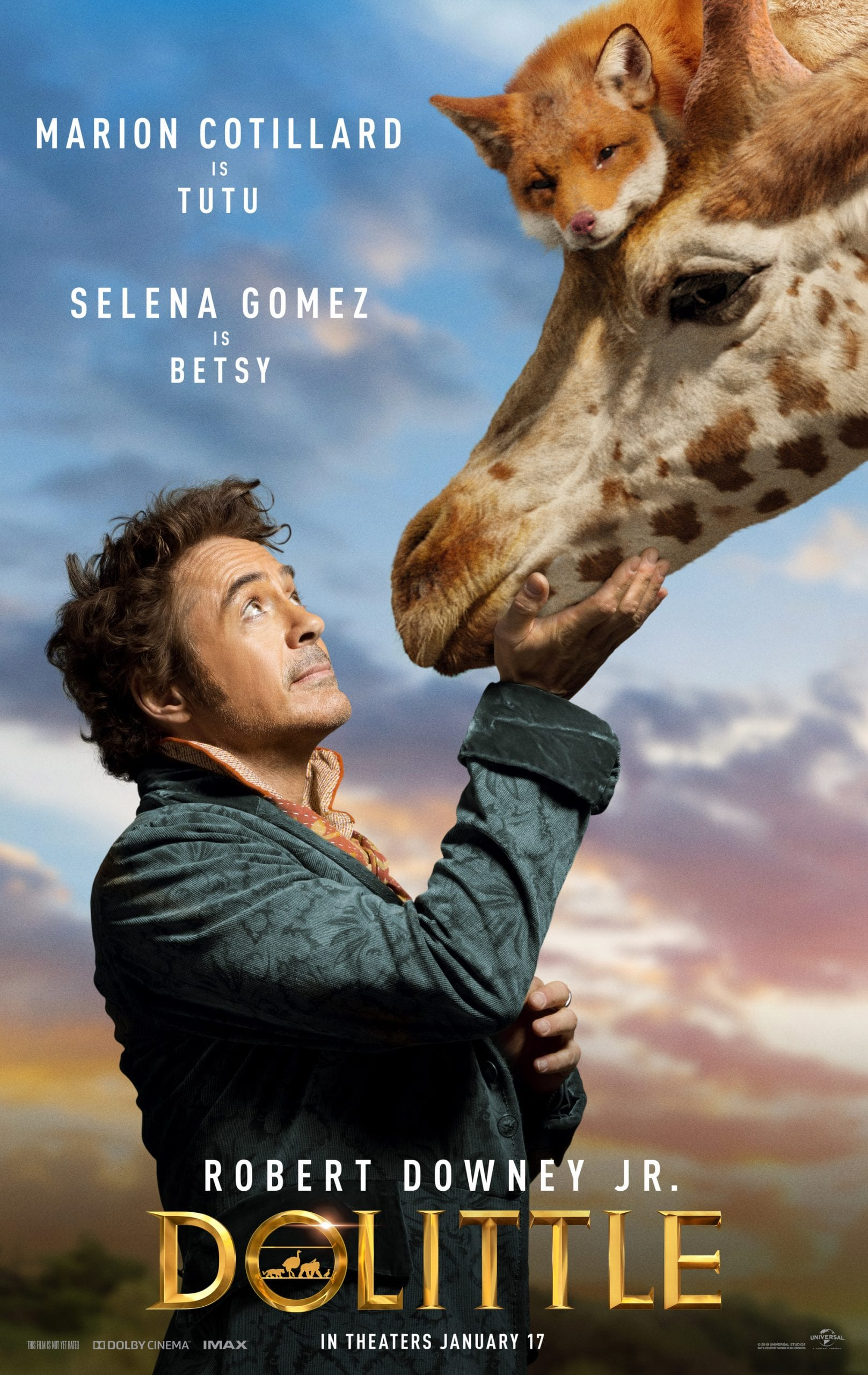 Dolittle Character Posters Marion Cotillard is Tutu and Selena Gomez is Betsy