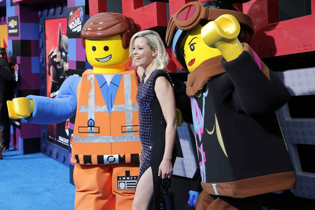 Elizabeth Banks The Lego Movie 2 Second Part Los Angeles Premiere