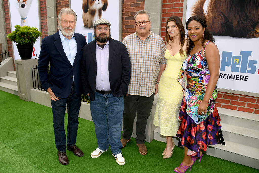 Harrison Ford, Bobby Moynihan, Eric Stonestreet, Lake Bell and Tiffany Haddish The Secret Life of Pets 2 Los Angeles Premiere