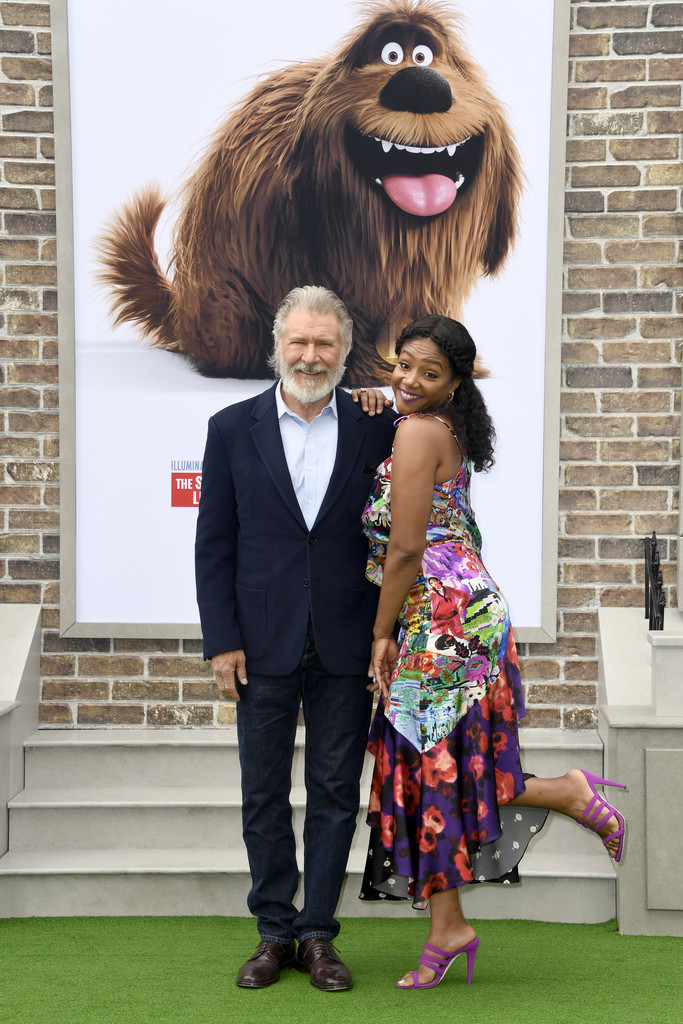 Harrison Ford and Tiffany Haddish The Secret Life of Pets 2 Los Angeles Premiere