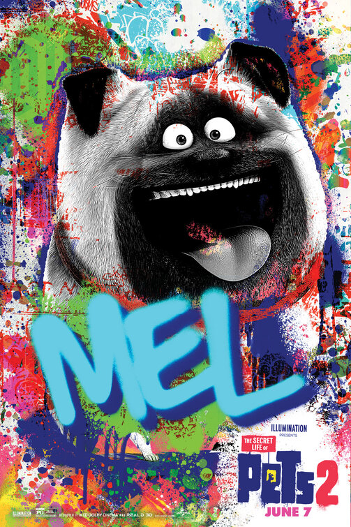 Mel The Secret Life of Pets 2 Character Posters