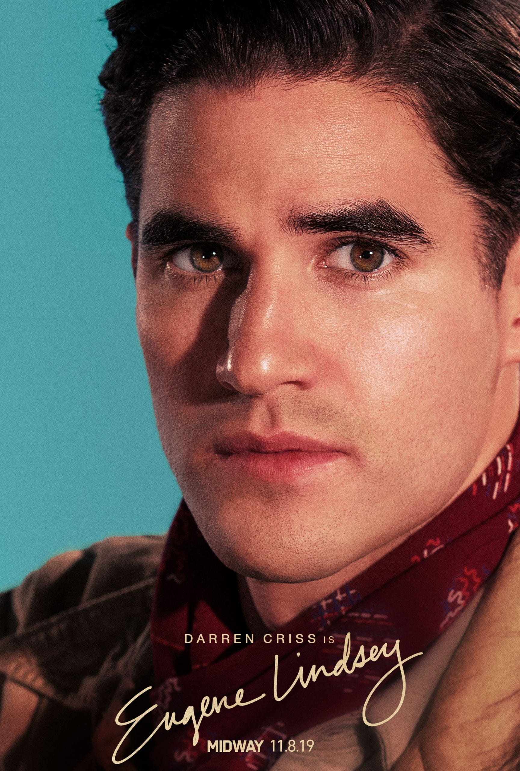 Midway Character Posters Darren Criss as Eugene Lindsey