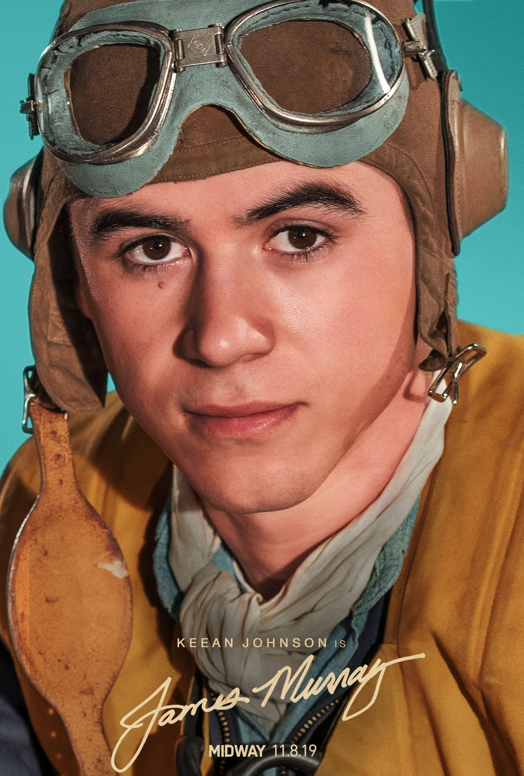 Midway Character Posters Keean Johnson as James Murray