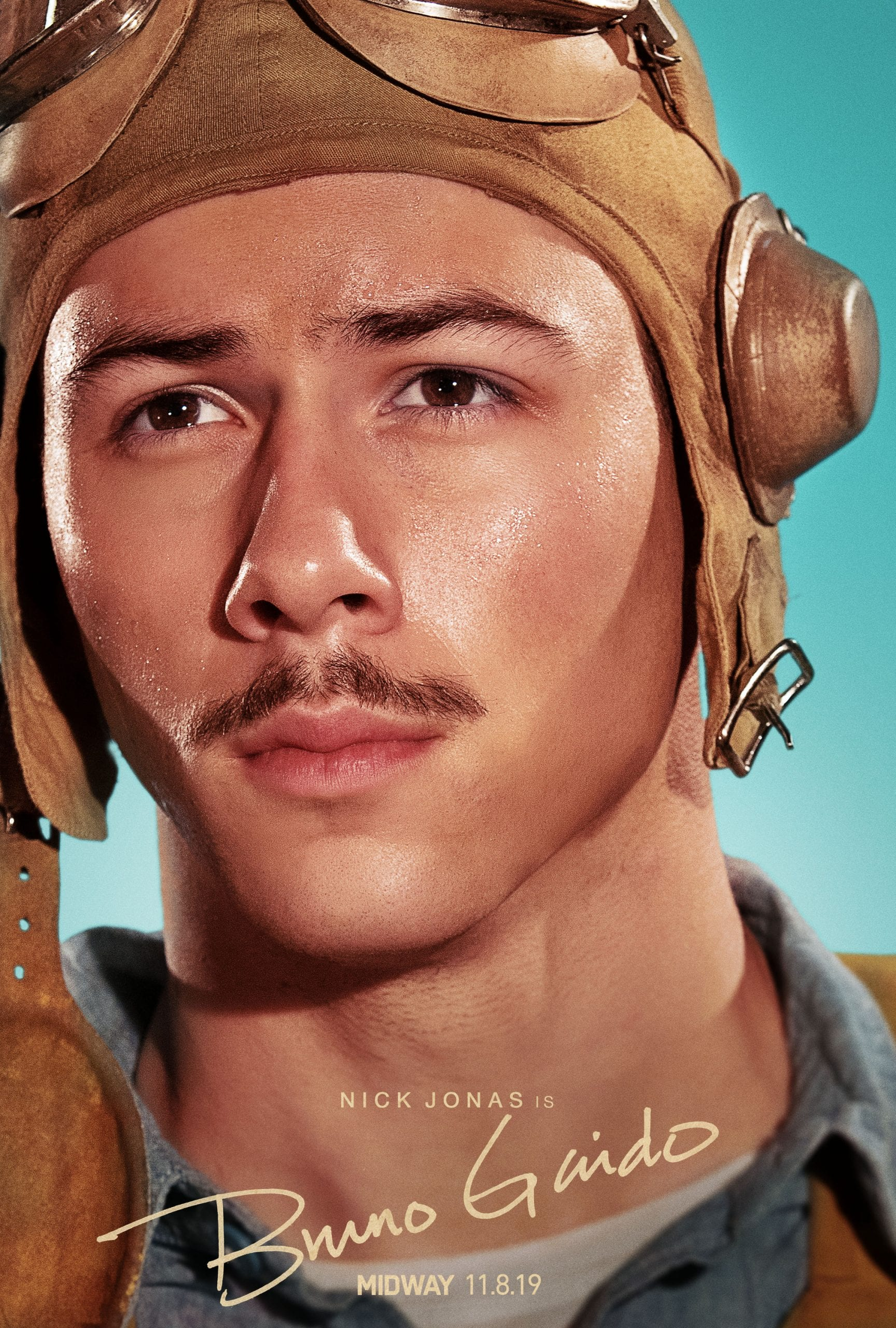 Midway Character Posters Nick Jonas as Bruno Gaido