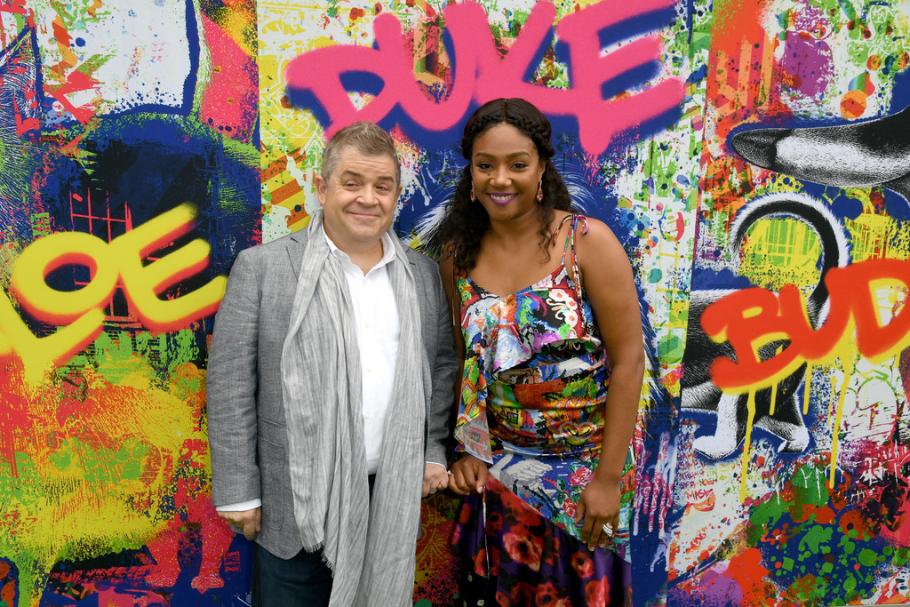 Patton Oswalt and Tiffany Haddish The Secret Life of Pets 2 Los Angeles Premiere