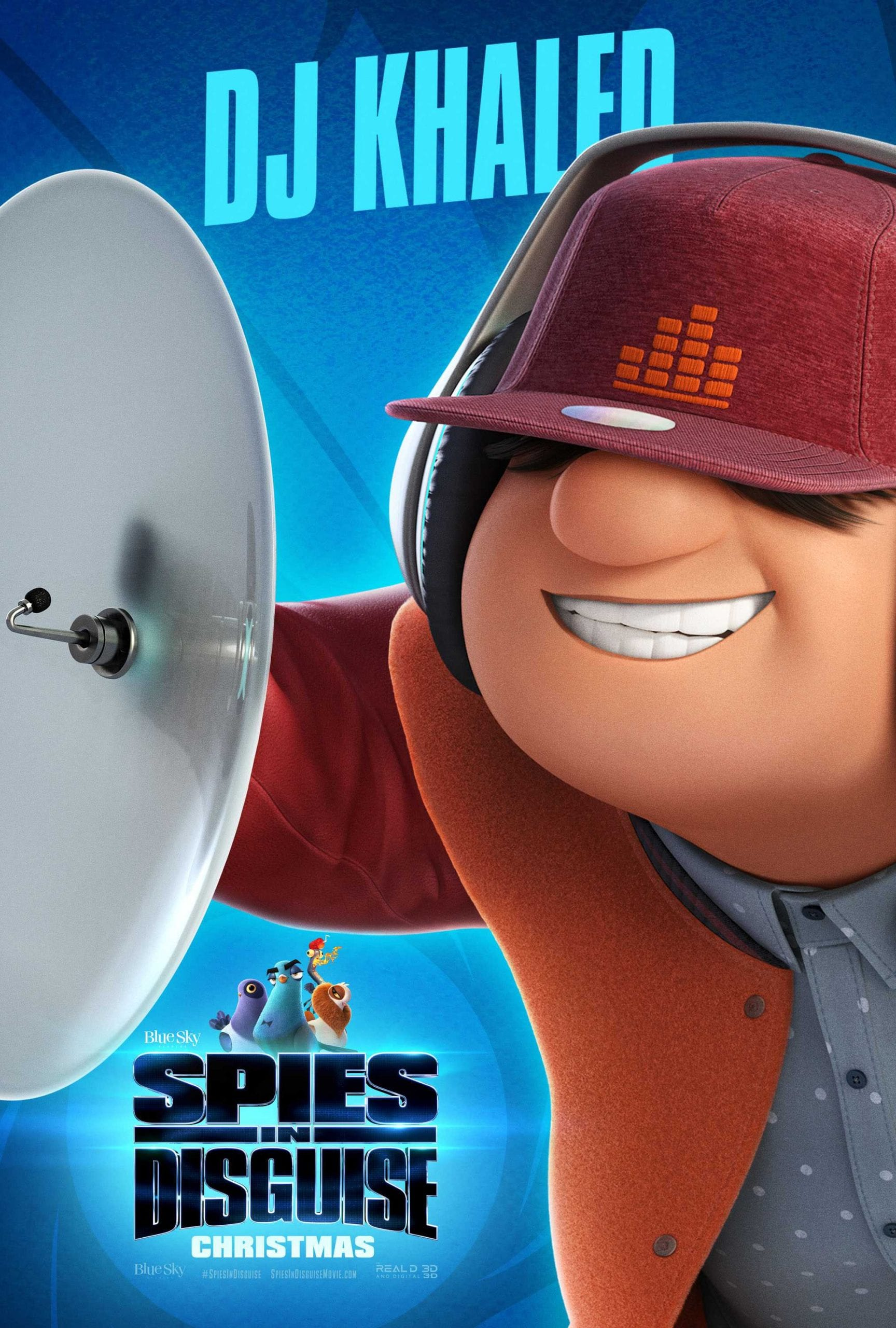 Spies in Disguise Character Posters DJ Khaled as Ears