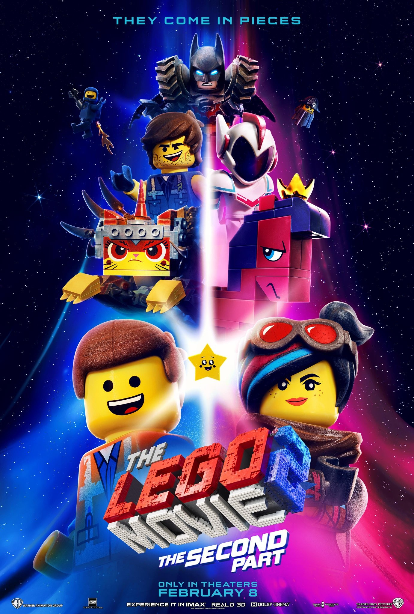The Lego Movie 2 The Second Part Official Movie Poster