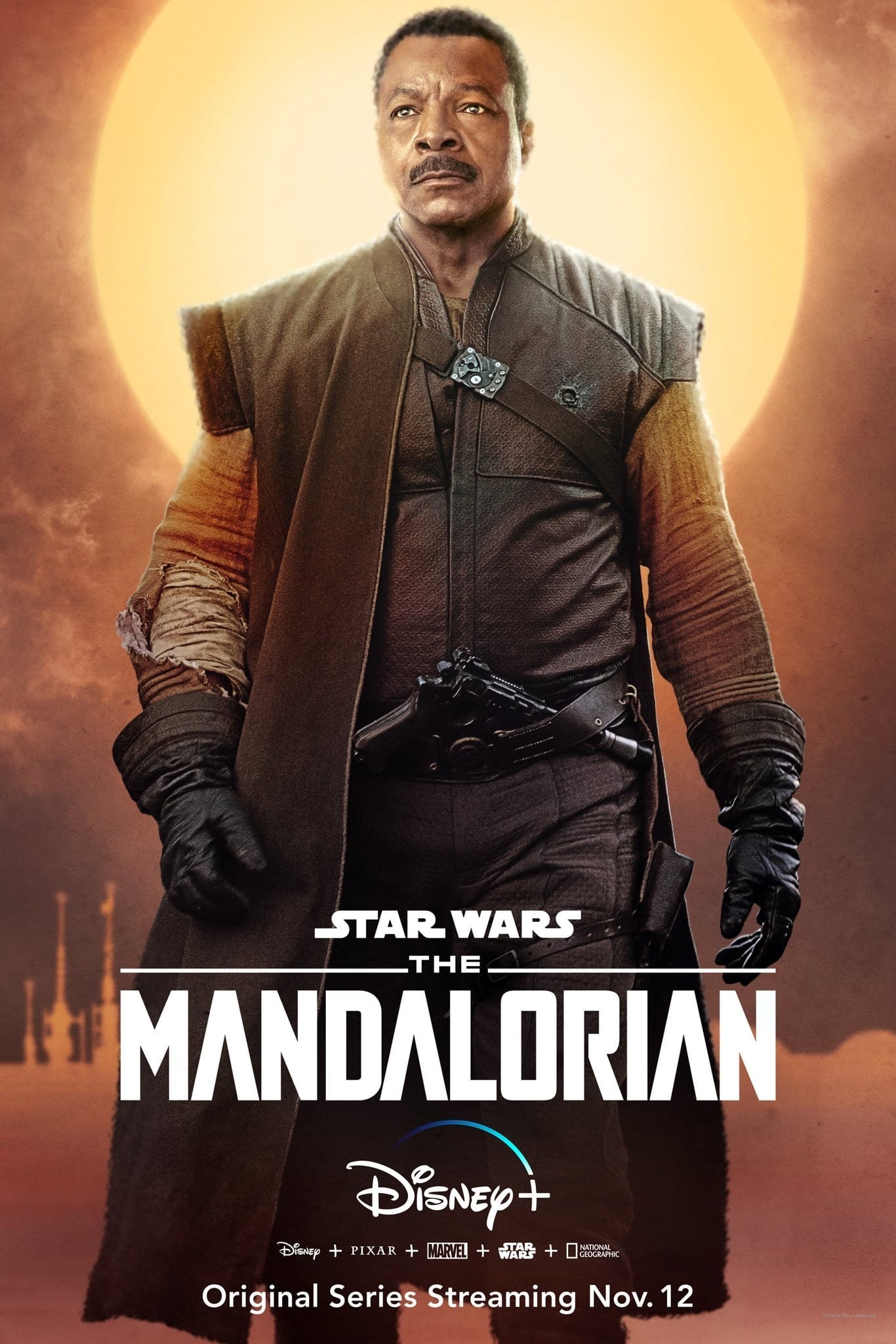 The Mandalorian Character Posters Carl Weathers as Greef Karga