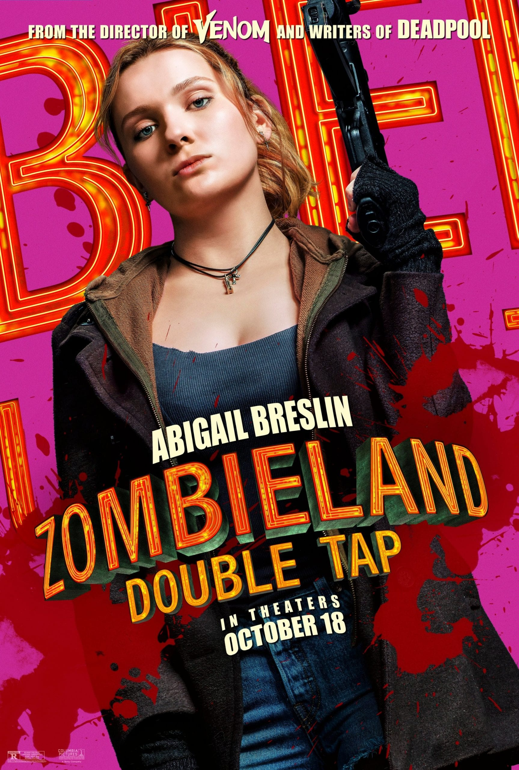 Zombieland Double Tap Character Posters Abigal Breslin as Little Rock