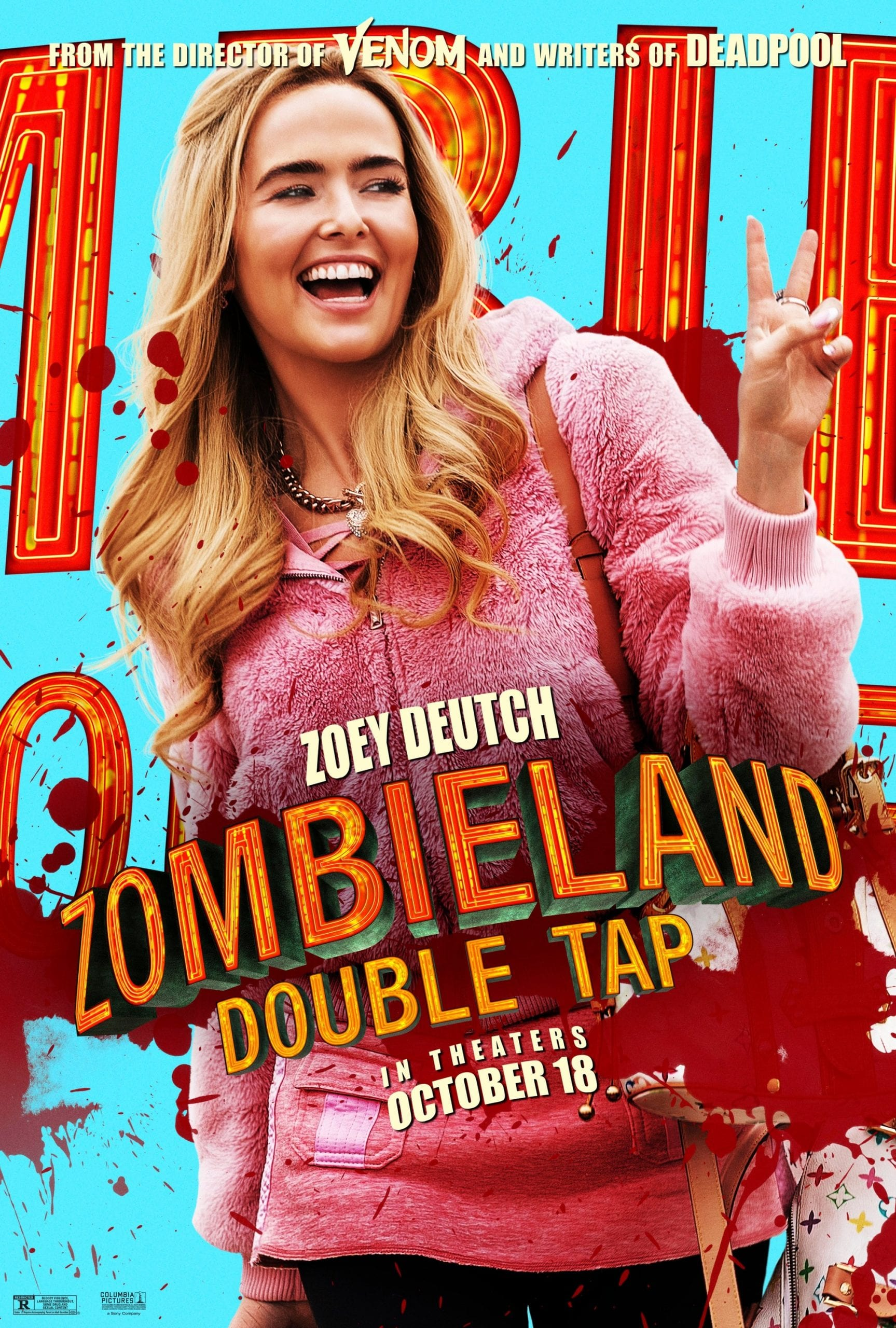Zombieland Double Tap Character Posters Zoey Deutch as Madison