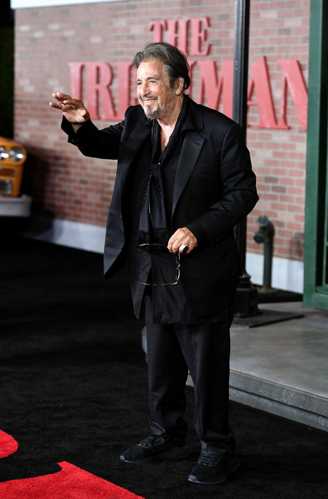 Al Pacino The Irishman Los Angeles Premiere Arrivals